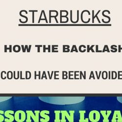 DID STARBUCKS NEED TO UPSET CUSTOMERS? - Why The Backlash Could Have Been Avoided